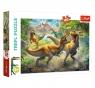 Puzzle 160: Walczące Tyranozaury (15360)Wiek: 5+