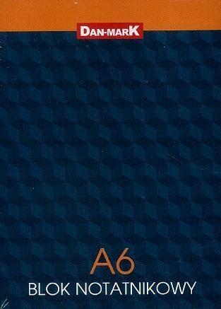 Blok notatnikowy A6/50K kratka (10szt)