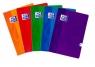 Brulion Oxford Esse A4 96 kartek kratka mix kolorów