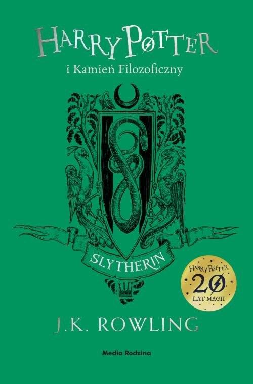Harry Potter i kamień filozoficzny. Tom 1. Slytherin Rowling Joanne K.