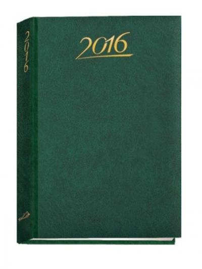 Kalendarz B6 standard 2016 zielony .