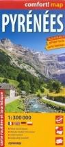 Pyrenees 1:300 000 carte routle