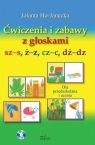 Ćwiczenia i zabawy z głoskami sz-s, ż-z, cz-c, dż-dz + CD