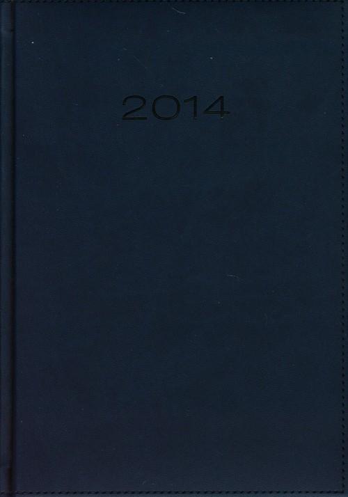 Kalendarz 2014 A5 21D Niebieski dzienny