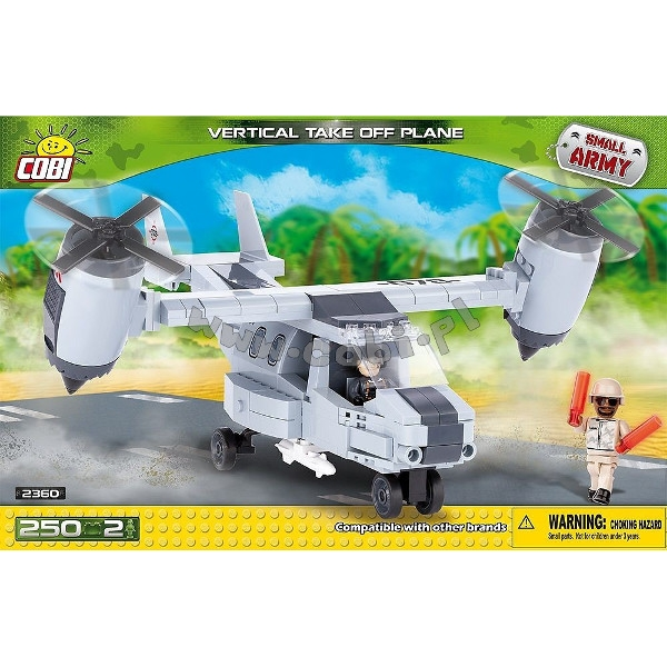 COBI Armia Samolot Vitol (2360)