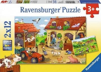 Puzzle 2X12 Praca na farmie (075607) RAP075607