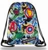 Coolpack - Beta - Disney - Worek na buty - Avengers Badges (B54308)