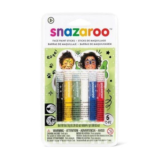 Kredki do malowania twarzy Snazaroo, 6 kolorów (1172035)