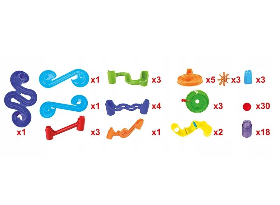 Genialny dzieciak - Tor kuleczkowy, 78 elementów (117607)