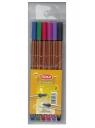 Cienkopis F-Liner 6 kolorów (344)