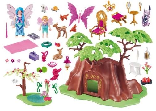 Leśny domek wróżek (70001)