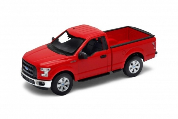 Model kolekcjonerski 2015 Ford F150 regular Cab, czerwony (24063-1)