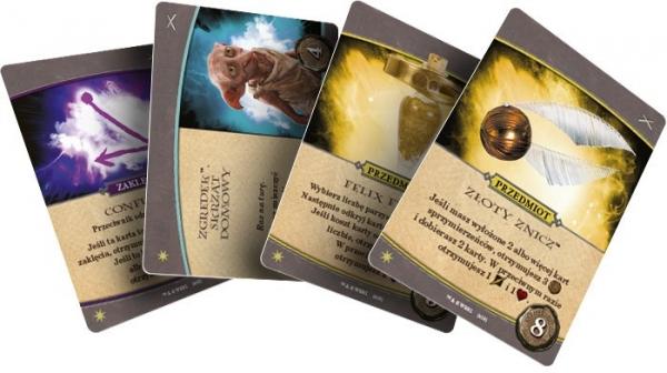 Karty Harry Potter Hogwarts Battle Obrona 4 karty (01608)