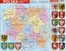 Puzzle ramkowe Polska administracyjna