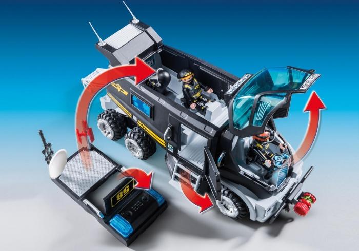Pojazd jednostki specjalnej ze światłem i dźwiękiem (9360)