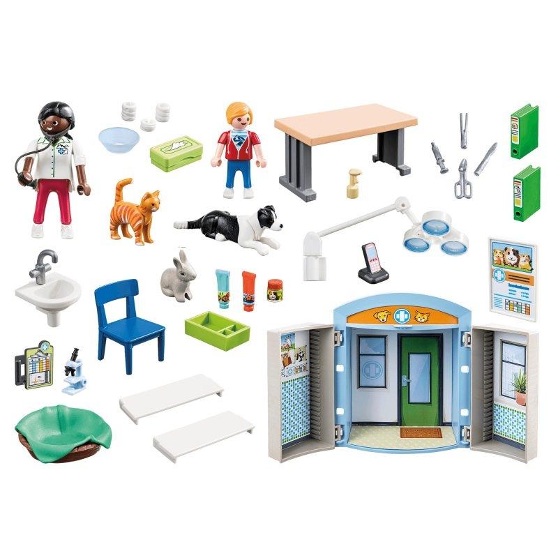 Playmobil City Life: Play Box - Weterynarz (70309)