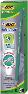 Ołówek Evolution Eco bez gumki (12szt) BIC