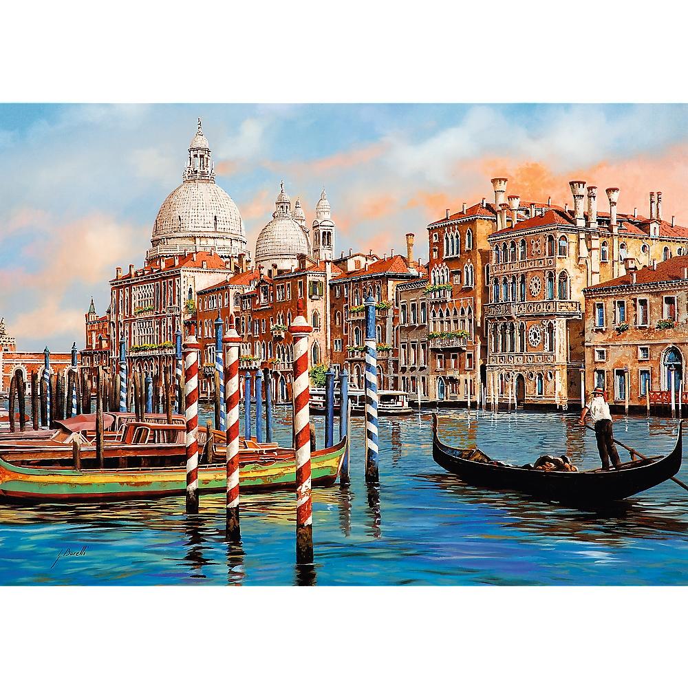 Puzzle 1000: Popołudnie w Wenecji (10460)