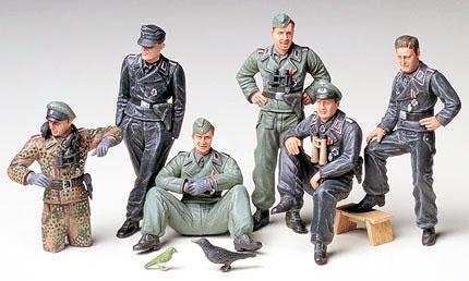 TAMIYA German Tank Crew at Rest (35201)