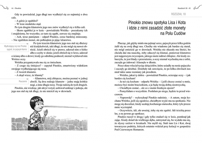 Pinokio Carlo Collodi, ilustracje Marek Szal