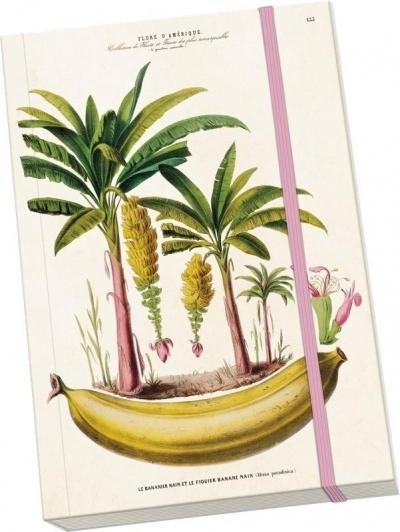 Notatnik ozdobny A5 STNOTE 60 Bananowce