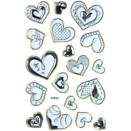Naklejki do dekoracji serca (359392)