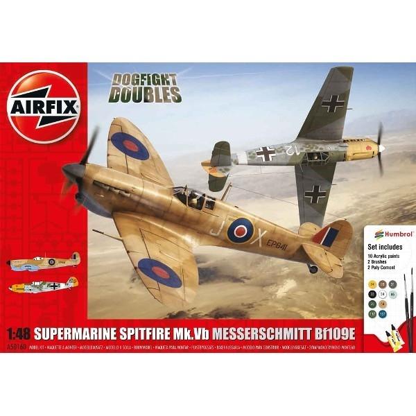 Spitfire Mk Vb Messerschmitt Bf10