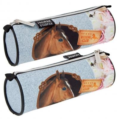 Piórnik tuba Horses