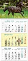 Kalendarz 2014 Koń