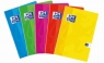 Brulion A5 Oxford Soft Touch w kratkę 60 kartek  mix