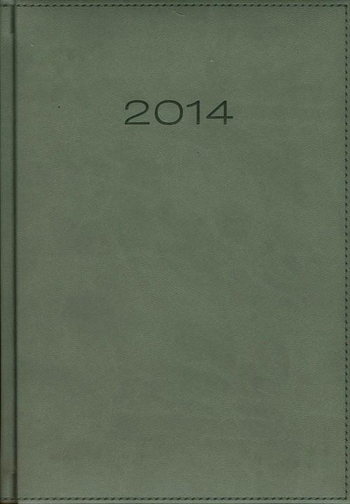 Kalendarz 2014 A5 21D Szary dzienny