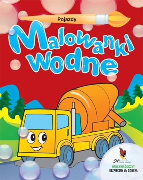 Pojazdy Malowanki wodne