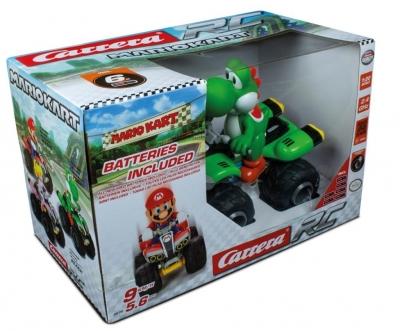 Carrera RC Mario Kart Yoshi Quad LiFePO 2,4GHz
