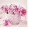 Serwetki TL571000 Roses in a Cup