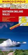 Wielka Brytania 1/2 część południowa/Walia 1:300 000 - mapa Marco Polo