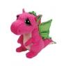 Maskotka Beanie Boos Darla - Różowy Smok 24 cm (37061)