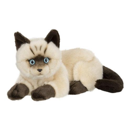 Kot syjamski leżący - 25cm