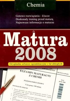 MATURA 2008 CHEMIA OPRACOWANIE ZBIOROWE