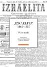 Izraelita 1866-1915