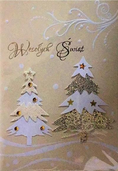 Karnet Boże Narodzenie B6 Premium 16 + koperta