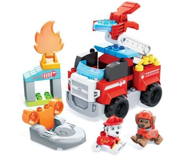 Mega Bloks: Psi Patrol - Wóz strażacki Marshalla (GYJ01)