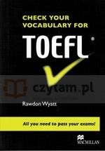 Check Your Vocabulary for TOEFL Rawdon Wyatt
