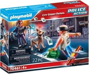 Playmobil Police Action: Patrol uliczny (70461)