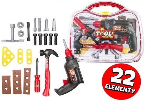Zestaw narzędzi w walizce 22elementy