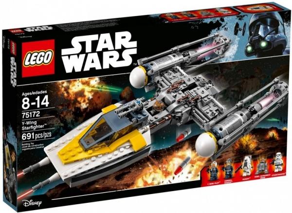 Star Wars Y-Wing Starfighter (75172)