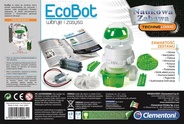 Naukowa Zabawa : EcoBot (50061)