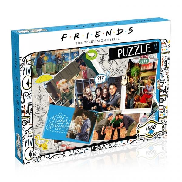 Puzzle 1000 elementów Przyjaciele Scrapbook (39611)
