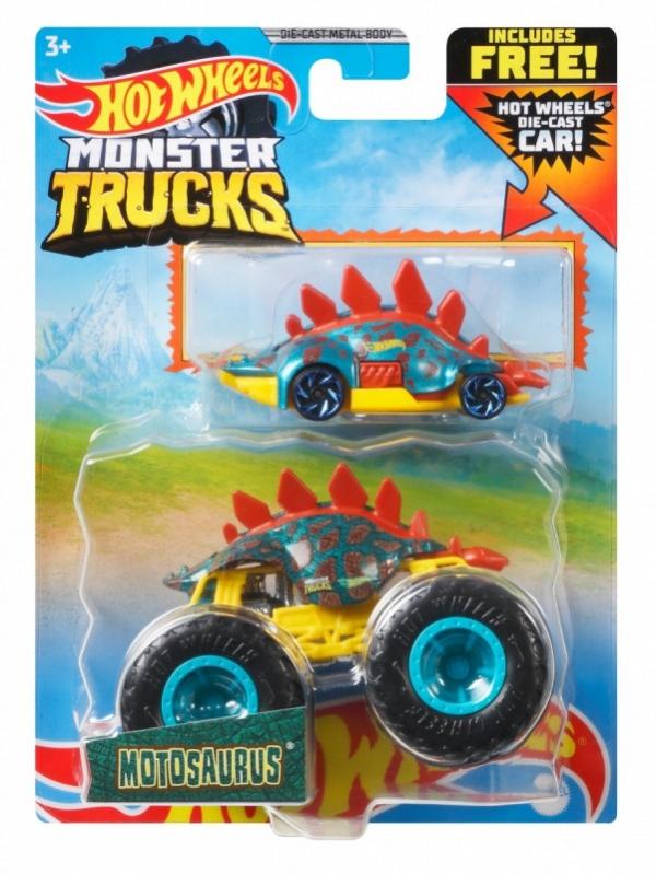 Pojazdy Monster Truck 2-pak Motosaurus (GRH81/GYL84)