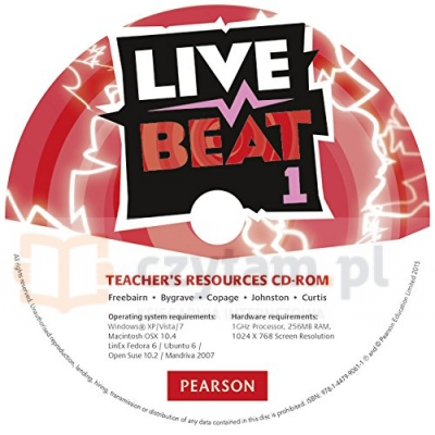Live Beat GL 1 Teacher s Resources CD-ROM