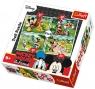 Puzzle 4w1 Zabawy w parku (34261)